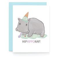 Art + Soul Hip Hippo Ray! Greeting Card