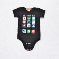 Orange Dingo Baby Onesie baby apps 3-6 months