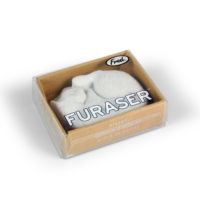 Furaser White Cat Eraser is the perfect addition to your collection.