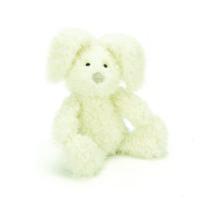 white bunny plushie