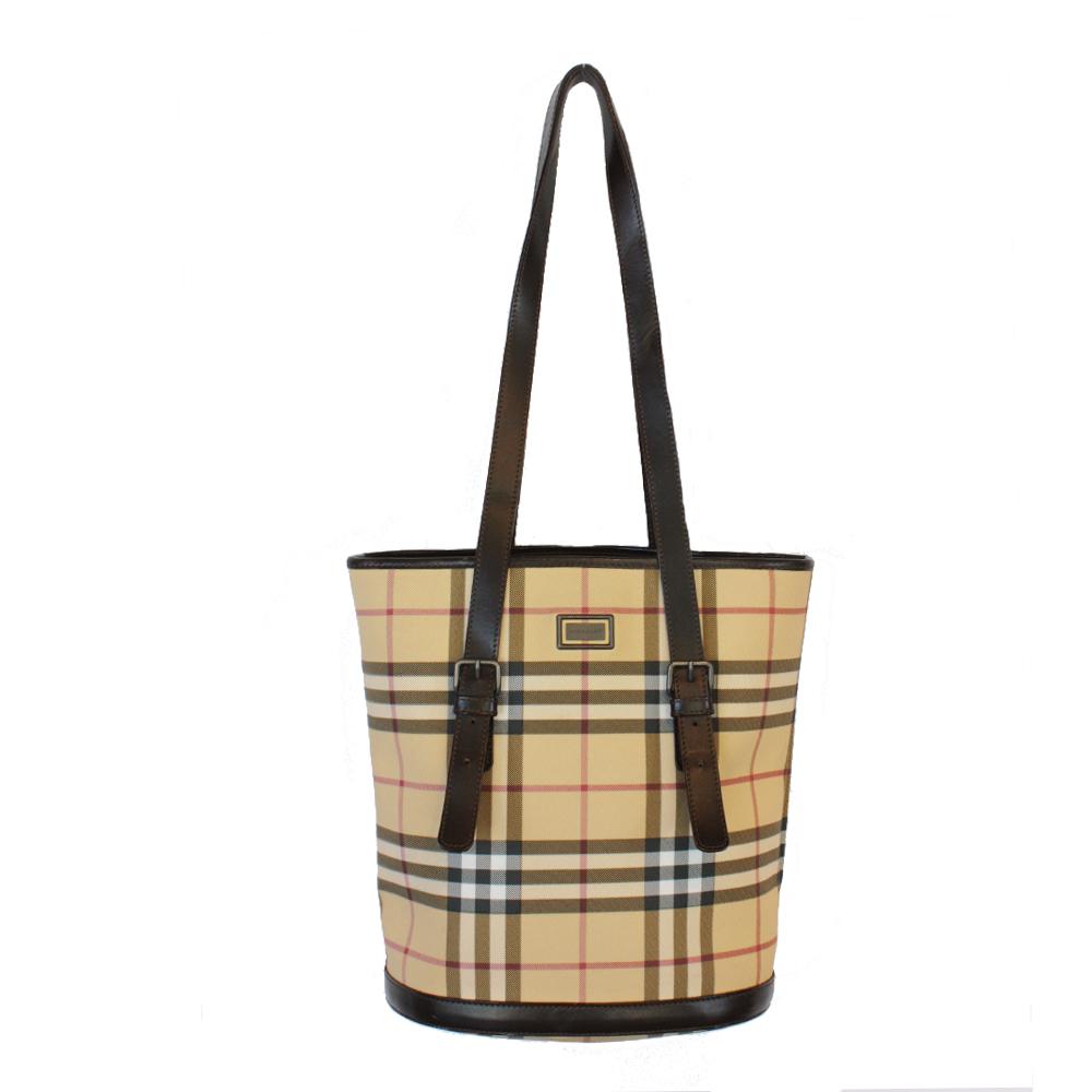 51f594f356a1 Burberry Nova Check Bag – Front   Company