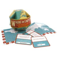 GINGER FOX WHERE ON EARTH TRAVEL TRIVIA GAME