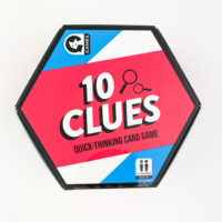 GINGER FOX 10 CLUES CARD GAME