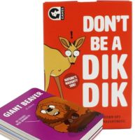 GINGER FOX DON'T BE A DIK DIK CARD GAME