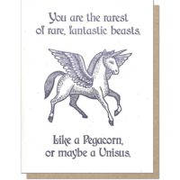 Guttersnipe Press Pegacorn Greeting Card