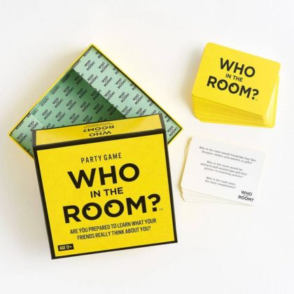 HYGGE GAMES WHO IN THE ROOM