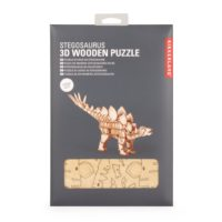 Improve concentration, problem solving and fine motor skills with this Stegosaurus 3D Wooden Puzzle!