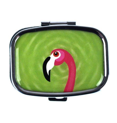 Flamingo Pill Box Assorted