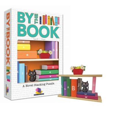 By The Book Stacking Game
