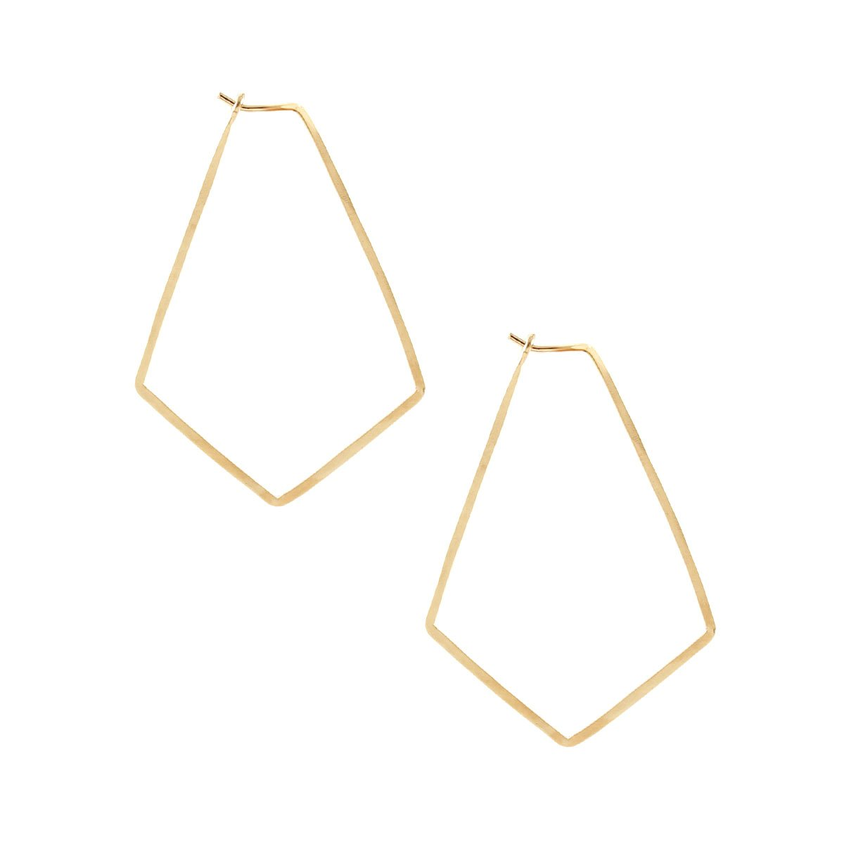 0242742a9 Small Marquis Hoop Earrings – Front & Company