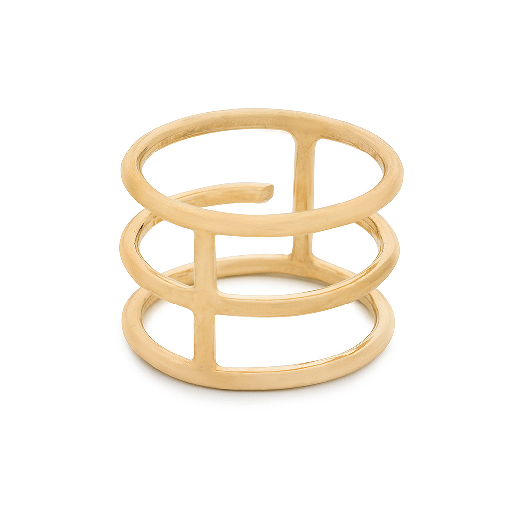 Kara Yoo Gladiator 14K Gold Filled Ring