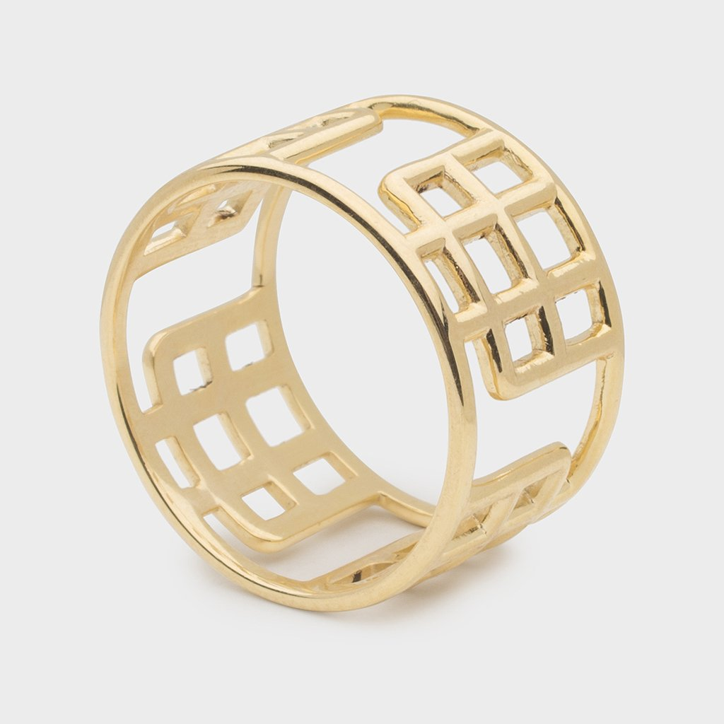 Kara Yoo Melody Gold Plated Vermeil Ring