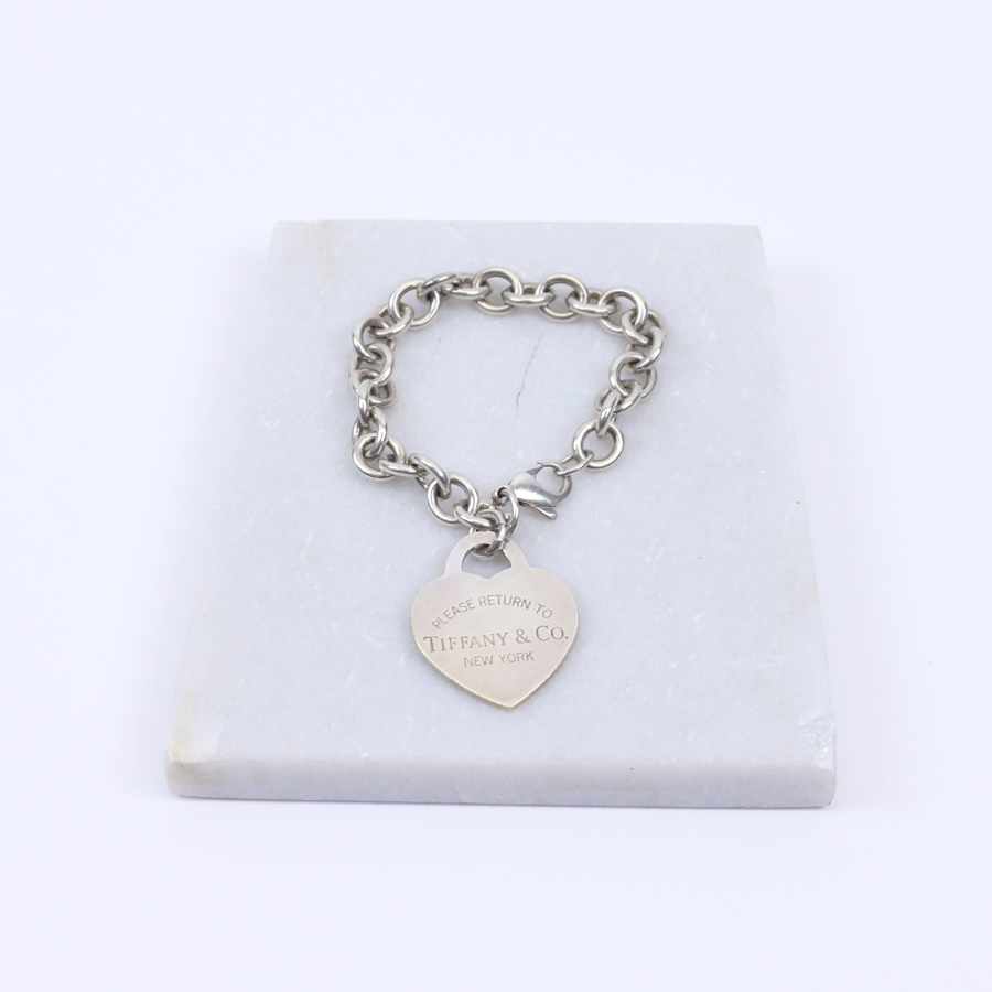 Tiffany Co Return To S Heart Tag Charm Bracelet