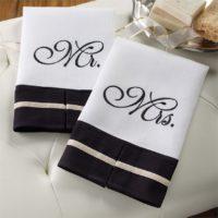 Mr. & Mrs. Linen Towels Set