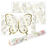 Meri Meri Butterfly Colour Posters