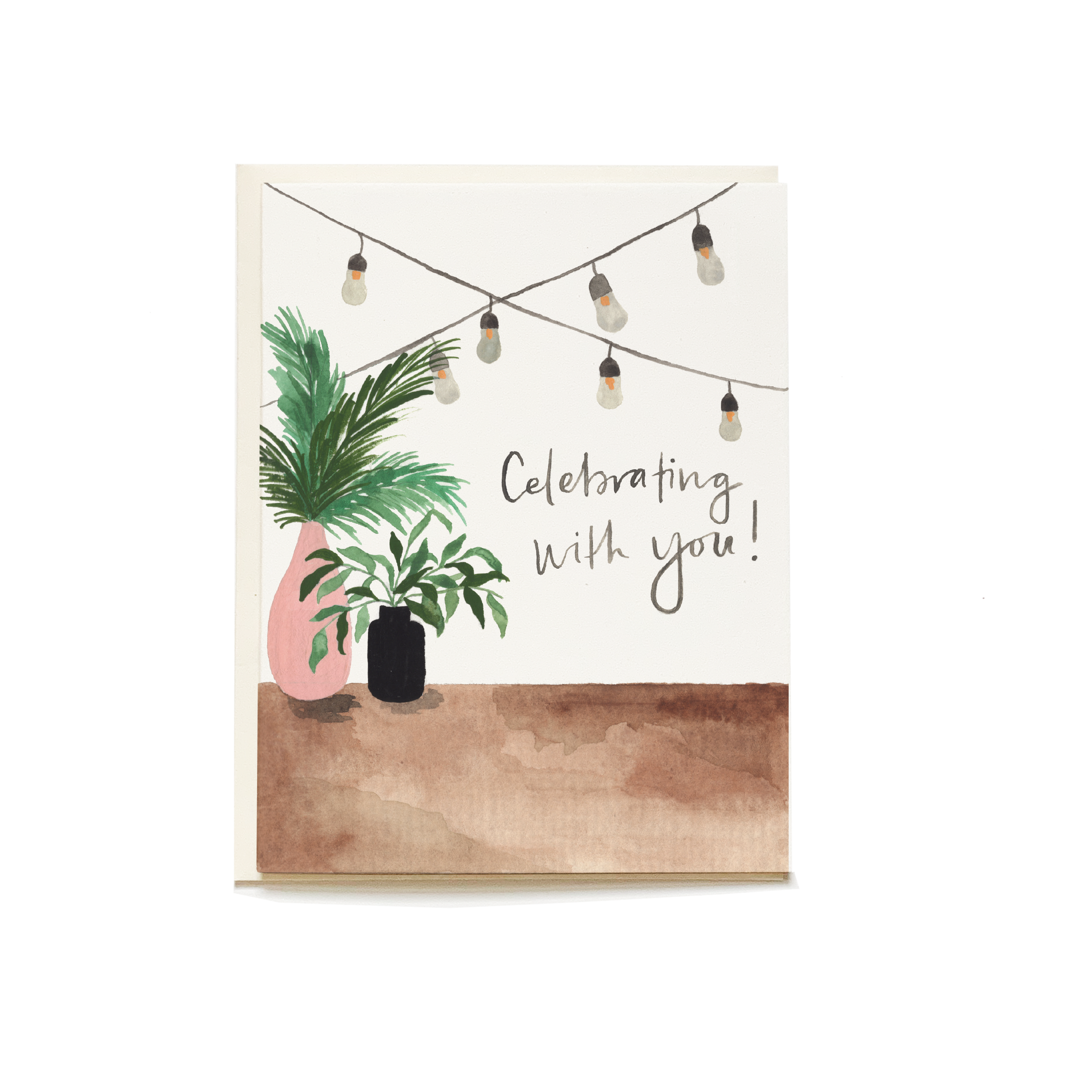 Pen + Pillar Backyard Celebration Greeting Card