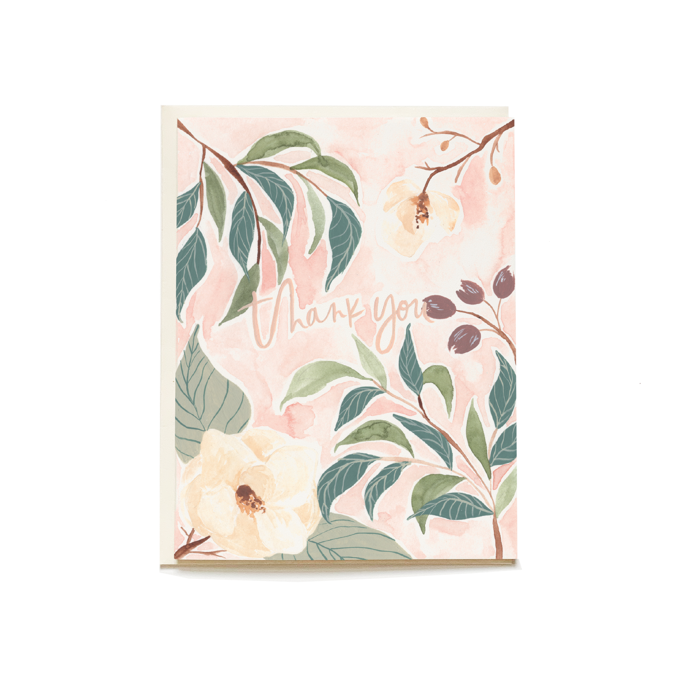 Pen + Pillar Springtime Thank You Greeting Card
