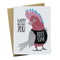 Parrot Birthday Greeting Card