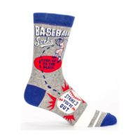 BLUE Q BASEBALL MEN'S CREW SOCKS