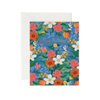 Rifle Paper Orangerie Birthday Greeting Card