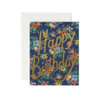 Rifle Paper Garden Birthday Greeting Card