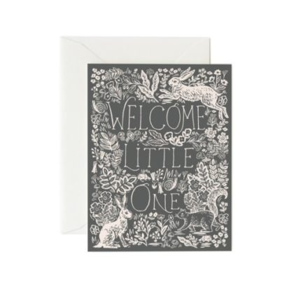 Rifle Paper Fable Baby Greeting Card