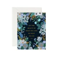 Rifle Paper Rumi Quote Greeting Card