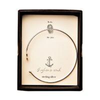 anchor cuff bangle