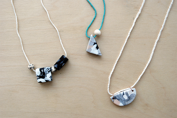 Blog diy marbled clay necklace tutorial front company audiocablefo Light database