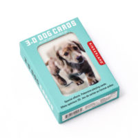 KIKKERLAND 3D DOG PLAYING CARDS