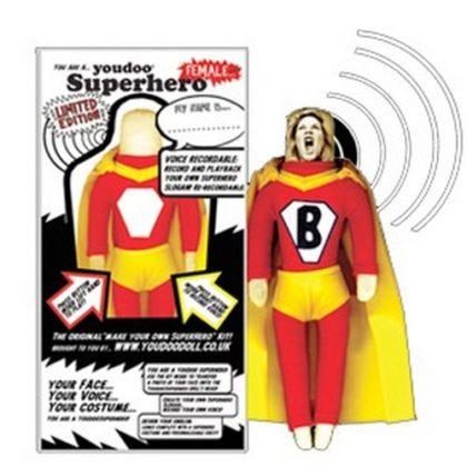 Youdoo Superhero Doll Female Plush