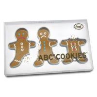 ABC Gingerbread Men Cookie Cutters