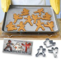 Ninjabred Men Cookie Cutters