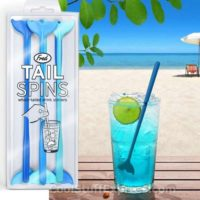 Tailspins Cocktail Stirrers