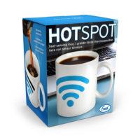 Hotspot Heat-Sensitive Color Changing Mug, White