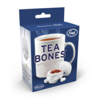 Tea Bones Skull Tea Infuser, White