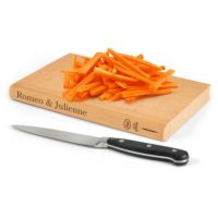 Romeo And Julienne Wooden Cutting Board