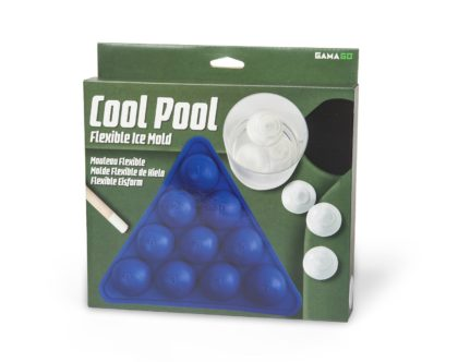 Cool Pool Flexible Ice Tray, Blue