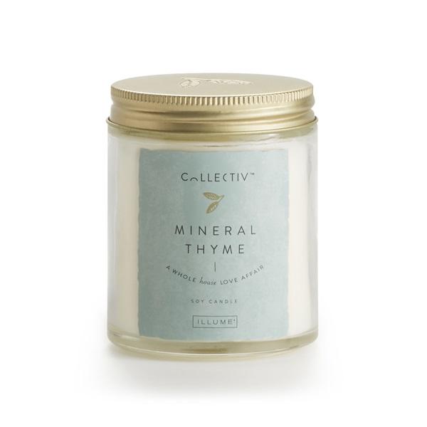 Illume Mineral Thyme Julia Jar Candle