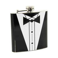 Tuxdeo Hip Flask