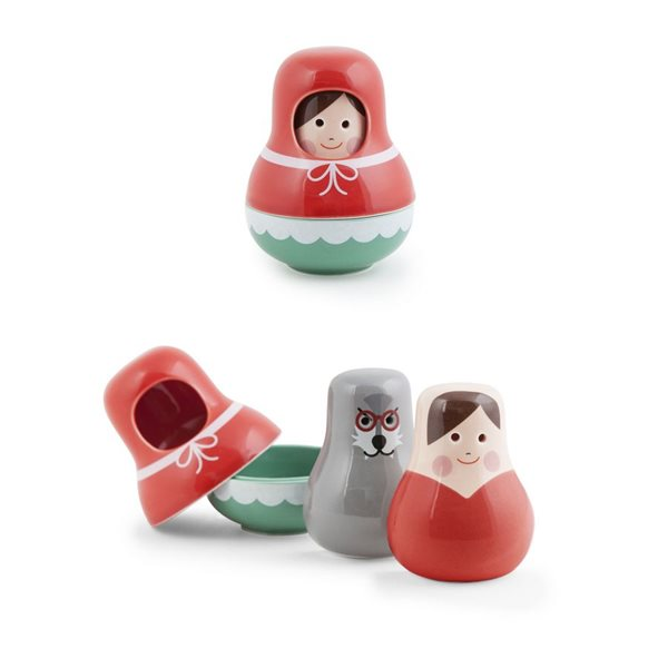 Little Red Salt And Pepper Shaker Front Company