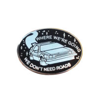La Barbuda Back To The Future Pin