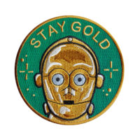 La Barbuda Stay Gold Patch