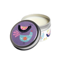 Scandi Birds Candle Tin
