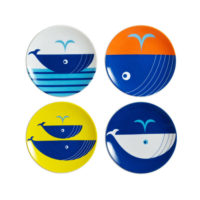 Miya Whales Mini Plate Set
