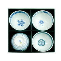Japanese Style Bowls - Set of 4