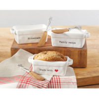 Mud Pie Circa Mini Loaf Set