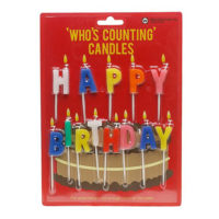 Who's Counting Candles - Happy Birthday