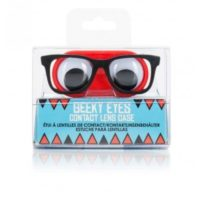 Geeky Eye Contact Lens Case