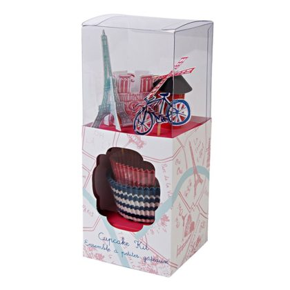 Paris Cupcake Kit